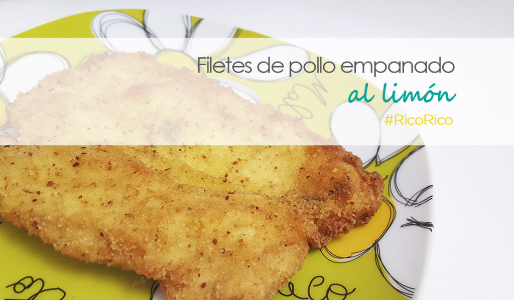 filetes de pollo empanado al limon